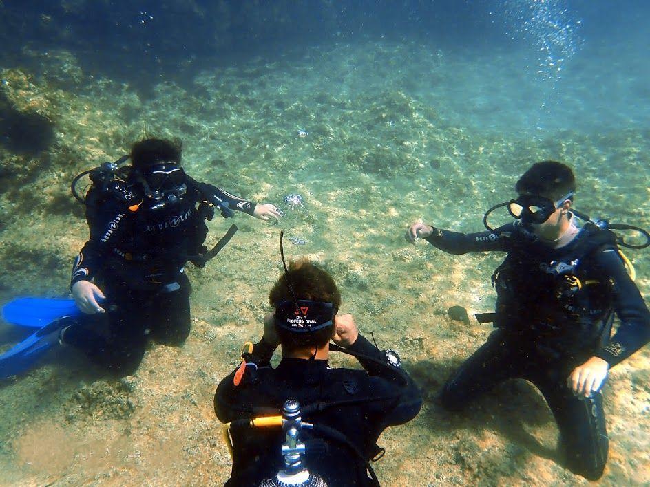 Devenir Instructeur de plongée avec Plongée Malte